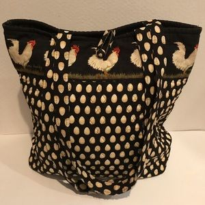 Chanticleer Button Tote